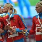 Du baiser russe et ukrainien sur la bouche – crétins de media occidentaux!