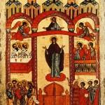 Bonne fête de Pokrov (le Voile-Protection de la Mère de Dieu) , 1/14 octobre