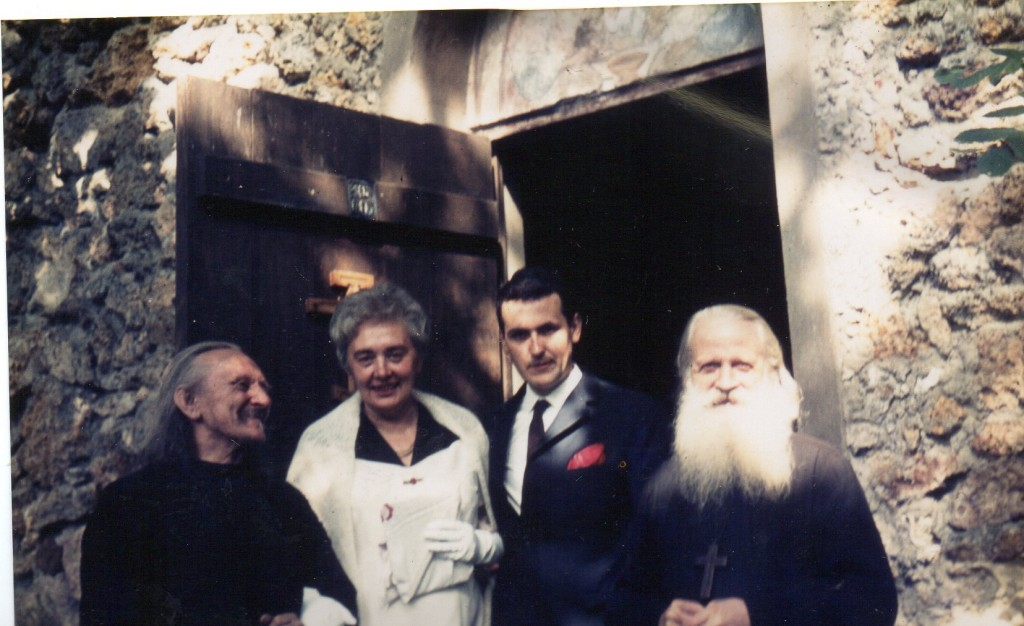 21:05.1966, Moine Grégoire, Lialia, Vania, Père Serge Chévitch