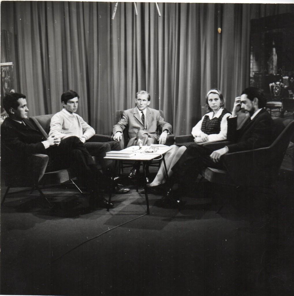 RTF, 1967, Jean-Claude Marcadé, un élève du Lycée Rodin, Raymond Laubreaux, Mlle Katz, Sacha Pitoëff