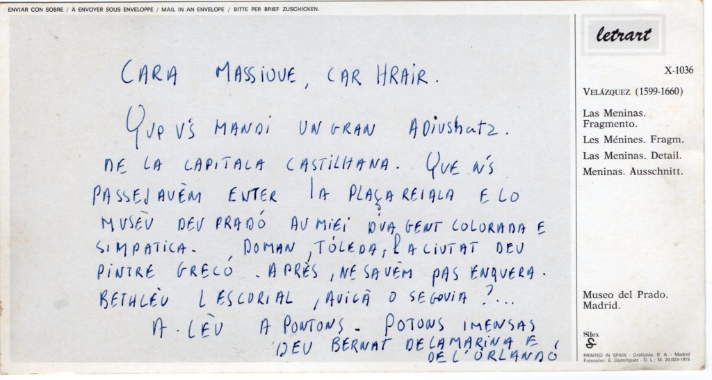 lettre de Bernard