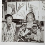 Michel Butor et Anna Staritsky