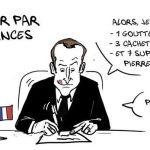 Macron croqué par Ulys