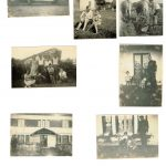 Photos à Mouscardès au début de 1939 et après 1945