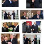 Macron le toutou de Troump…