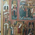 Remise de l'icône de la Protection de la Mère de Dieu (POKROV) à l'église éponyme de Biarritz par l'entrepreneur moscovite Mikhaïl Abramov