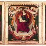 """Un chef-d'oeuvre absolu :  """"La Vierge en gloire"""" du Maître de Moulins, à Moulins"""