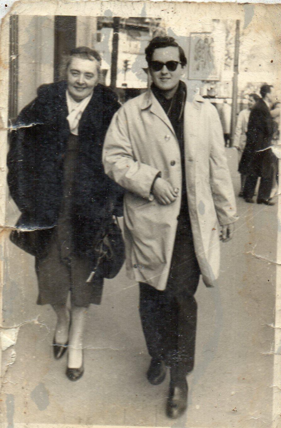 Lialia et Vania circa 1960