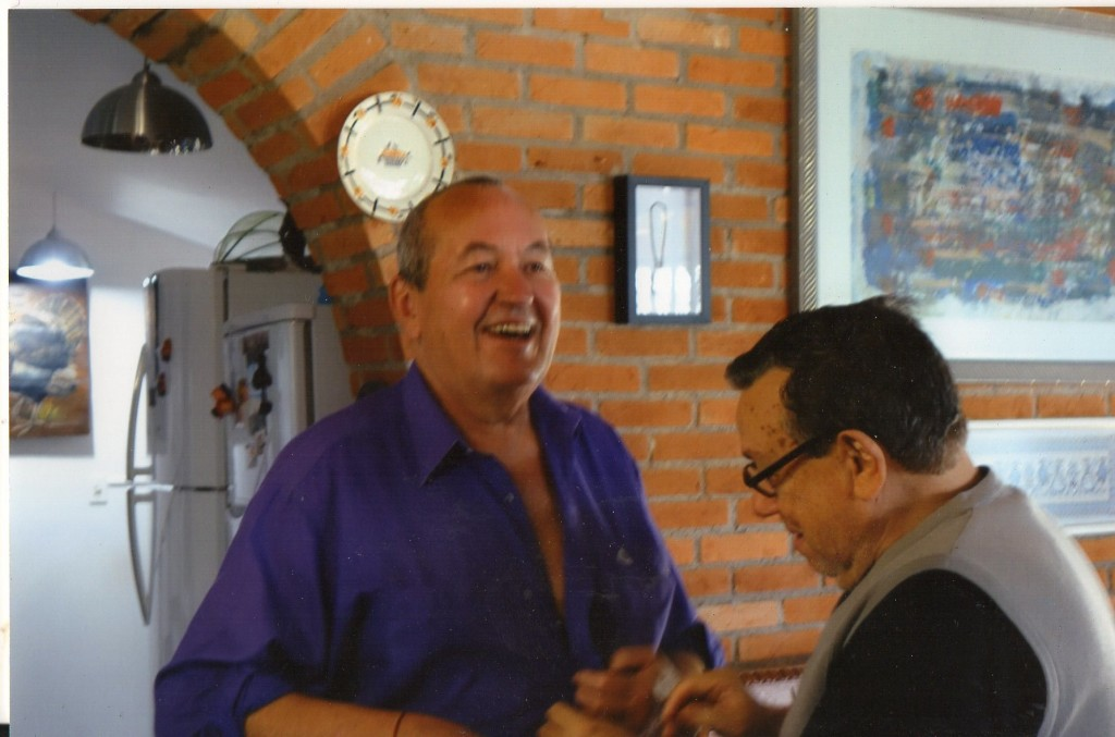 octobre 2014, avec Sidney Barbosa