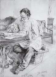 lRiépine, T. A sa table ronde de trvail1891