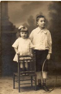 Lialia et son frère de 14 ans son aîné Stiopa