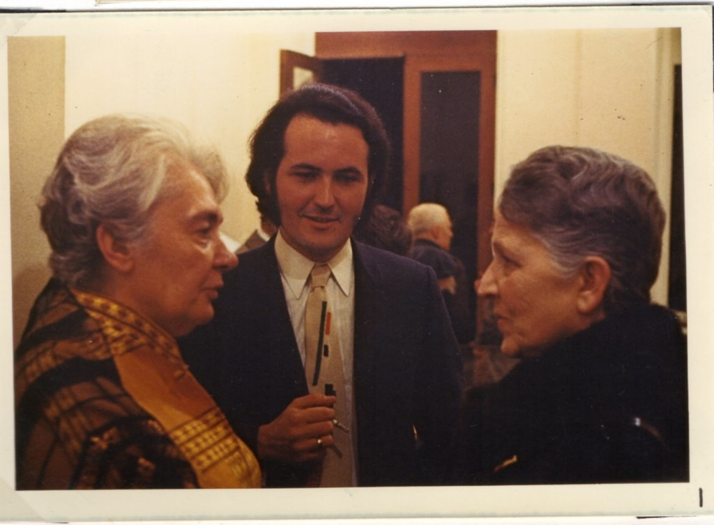 Valentine Maracadé, Jean-Claude Marcadé., Sofia Grigorievna Laffite, début années 1970 jpg