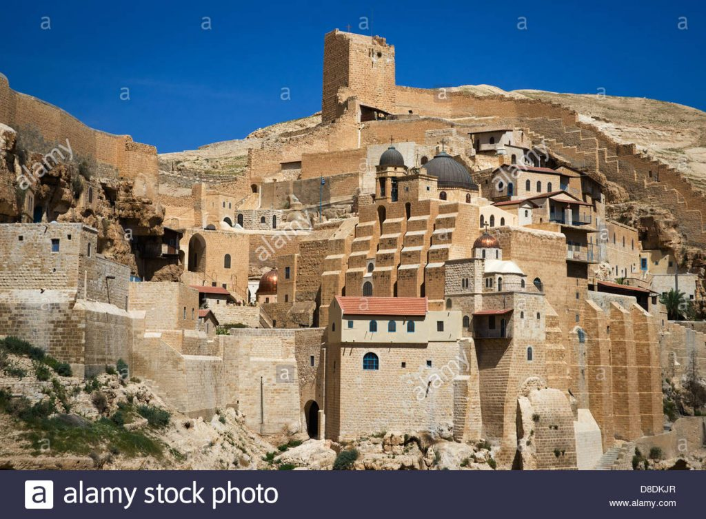 great-lavra-of-st-sabbas-the-sanctified-mar-saba-greek-orthodox-monastery-D8DKJR