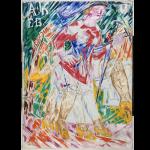 """Larionov, """"Vénus sur un boulevard"""", 1913"""