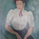 Un portrait d'Anna Staritsky des années 1940