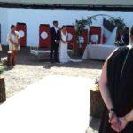 Mariage civil de Hugo Marcadé et de Julie Abdou aux Arènes de Mouscardès