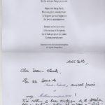 """Clément Marot """"Benoiste soit celle incarnation…"""""""