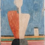 "Jean-Claude Marcadé    ""FEMALE TORSO No. 1"" BY MALEVICH IS THE IMAGE OF THE NEW POST-SUPREMATIVE ICONICITY"