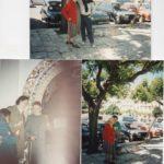 Valentine, Jean-Claude, Alvaro Marcadé, photos en vrac de la fin des années 1980