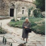 Valentine Marcadé fin des années 1980, en Grèce et à Chypre