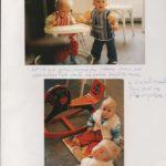Sabine Buchmann et les jumeaux Estelle/Antonia et mon filleul Spyridon/Andreas, 1988